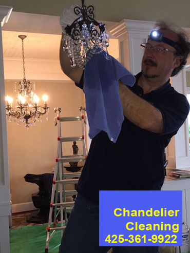 chandelier cleaning seattle