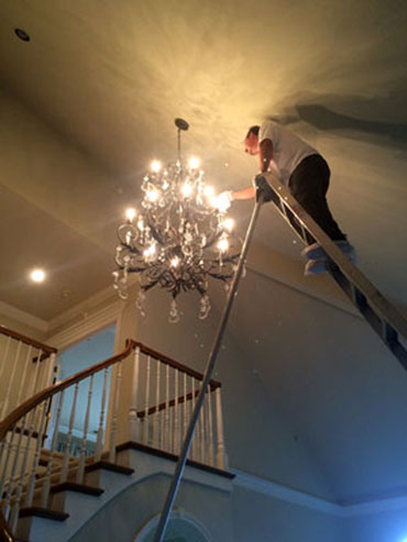 chandelier cleaning washington